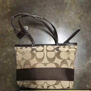 Brown/Tan Coach Handbag
